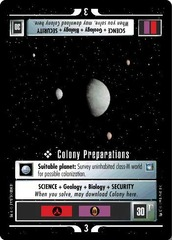 Colony Preparations