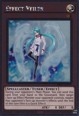 Effect Veiler - NKRT-EN039 - Platinum Rare - Limited Edition