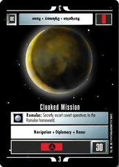 Cloaked Mission