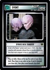 Bynars Data Transfer