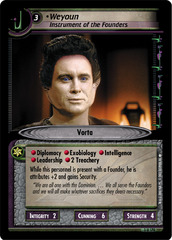 Weyoun, Instrument of the Founders