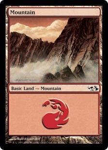 Mountain (61) (Goblins vs Elves)