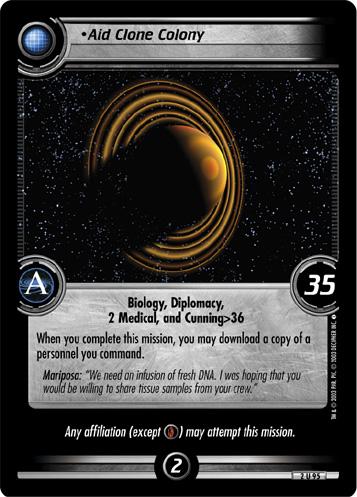 Aid Clone Colony