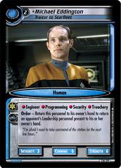 Michael Eddington, Traitor to Starfleet
