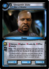 Benjamin Sisko, Man of Resolve
