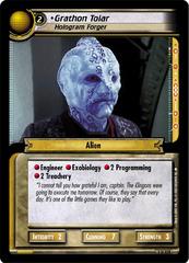 Grathon Tolar, Hologram Forger