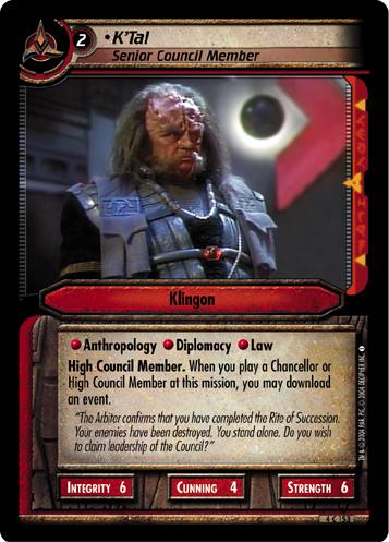 Necessary Evil ST First Officer Lightly Played Riker Star Trek 2E: William T