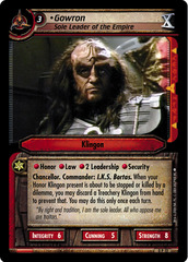 Gowron, Sole Leader of the Empire