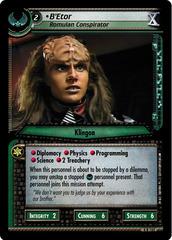 B'Etor, Romulan Conspirator - Foil