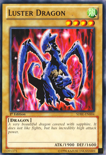 Luster Dragon - SDBE-EN004 - Common - Unlimited Edition