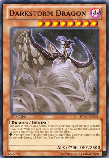 Darkstorm Dragon - SDBE-EN008 - Common - Unlimited Edition
