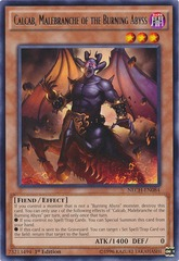 Calcab, Malebranche of the Burning Abyss - NECH-EN084 - Rare - Unlimited Edition