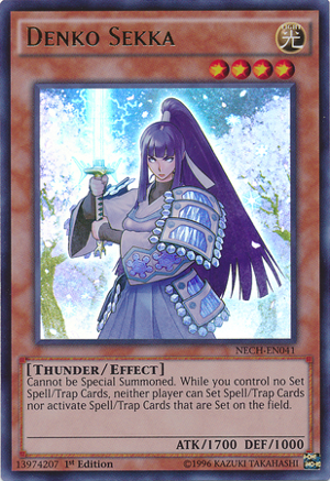 Denko Sekka - NECH-EN041 - Ultra Rare - Unlimited Edition