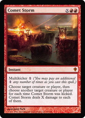 Comet Storm - Oversized Player Rewards Promo