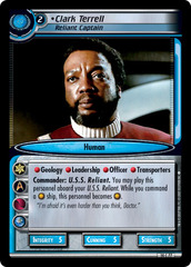 Clark Terrell, Reliant Captain