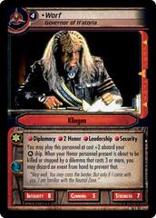 Worf, Governor Of H'atoria