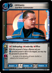 Williams, Starfleet Commander