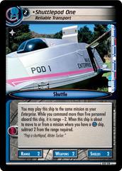 Shuttlepod One, Reliable Transport