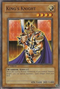 Kings Knight - DPYG-EN011 - Common - 1st Edition