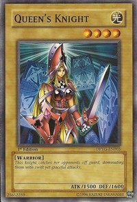 Queens Knight - DPYG-EN003 - Common - 1st Edition