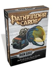 Pathfinder Cards: Iron Gods Adventure Path Item Cards Deck