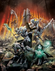 Forces of Warmachine Retribution Of Scyrah Hardcover (Limited)