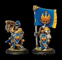 Sword Knight Officer Standard Bearer