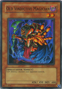 Old Vindictive Magician - CP06-EN003 - Super Rare - Unlimited Edition