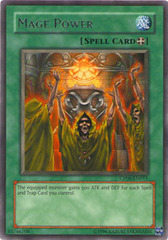 Mage Power - CP06-EN011 - Rare - Promo Edition