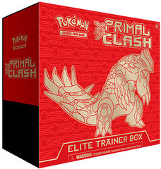 XY Primal Clash Elite Trainer Box - Groudon
