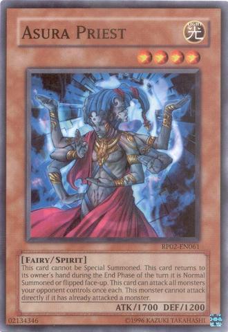 Asura Priest - RP02-EN061 - Common - Unlimited Edition