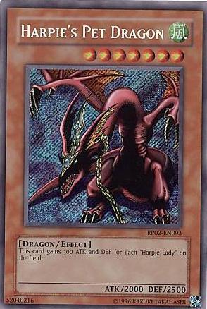 Harpies Pet Dragon - RP02-EN093 - Secret Rare - Unlimited Edition