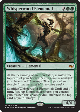 Whisperwood Elemental - Foil