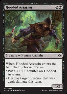 Hooded Assassin - Foil