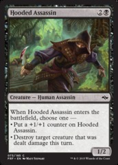 Hooded Assassin - Foil