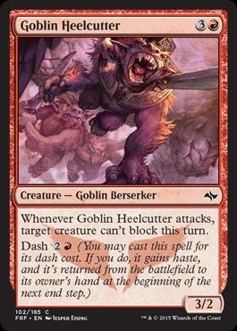 Goblin Heelcutter - Foil