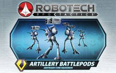Robotech RPG Tactics Zentraedi Artillery Battlepods Box Set