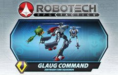 Robotech RPG Tactics Glaug Command Zentradi Core Squadron Box Set