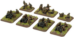 Airborne 75mm Pack Howitzer battery