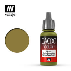 Vallejo Game Color - Camouflage Green - VAL72031 - 17ml