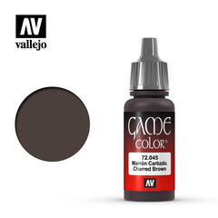 Vallejo Game Color - Charred Brown - VAL72045 - 17ml