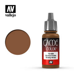 Vallejo Game Color - Brassy Brass - VAL72058 - 17ml