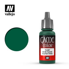 Vallejo Game Color - Cayman Green - VAL72067 - 17ml