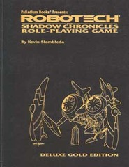 Robotech The Shadow Chronicles RPG - Gold Edition
