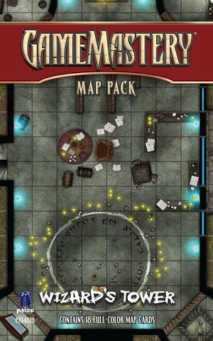 Pathfinder RPG (GameMastery Map Pack) - Wizards Tower