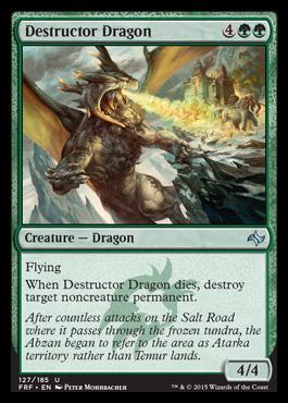 Destructor Dragon - Foil