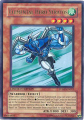 Elemental Hero Stratos - JUMP-EN012 - Ultra Rare - Limited Edition