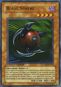 Blast Sphere - JUMP-EN019 - Ultra Rare - Limited Edition