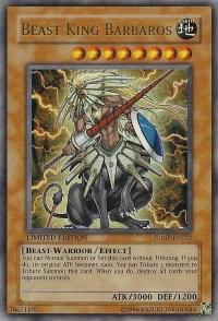 Beast King Barbaros - JUMP-EN032 - Ultra Rare - Limited Edition