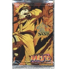 Naruto Collectible Card Game Curse of the Sand Booster Pack